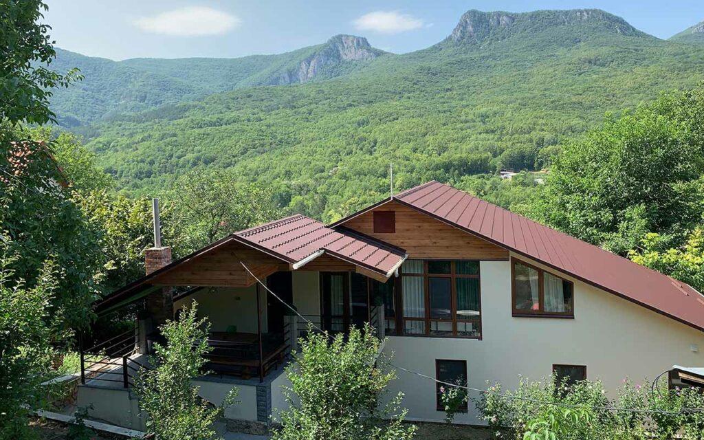 Дом в горах Крыма многоречье